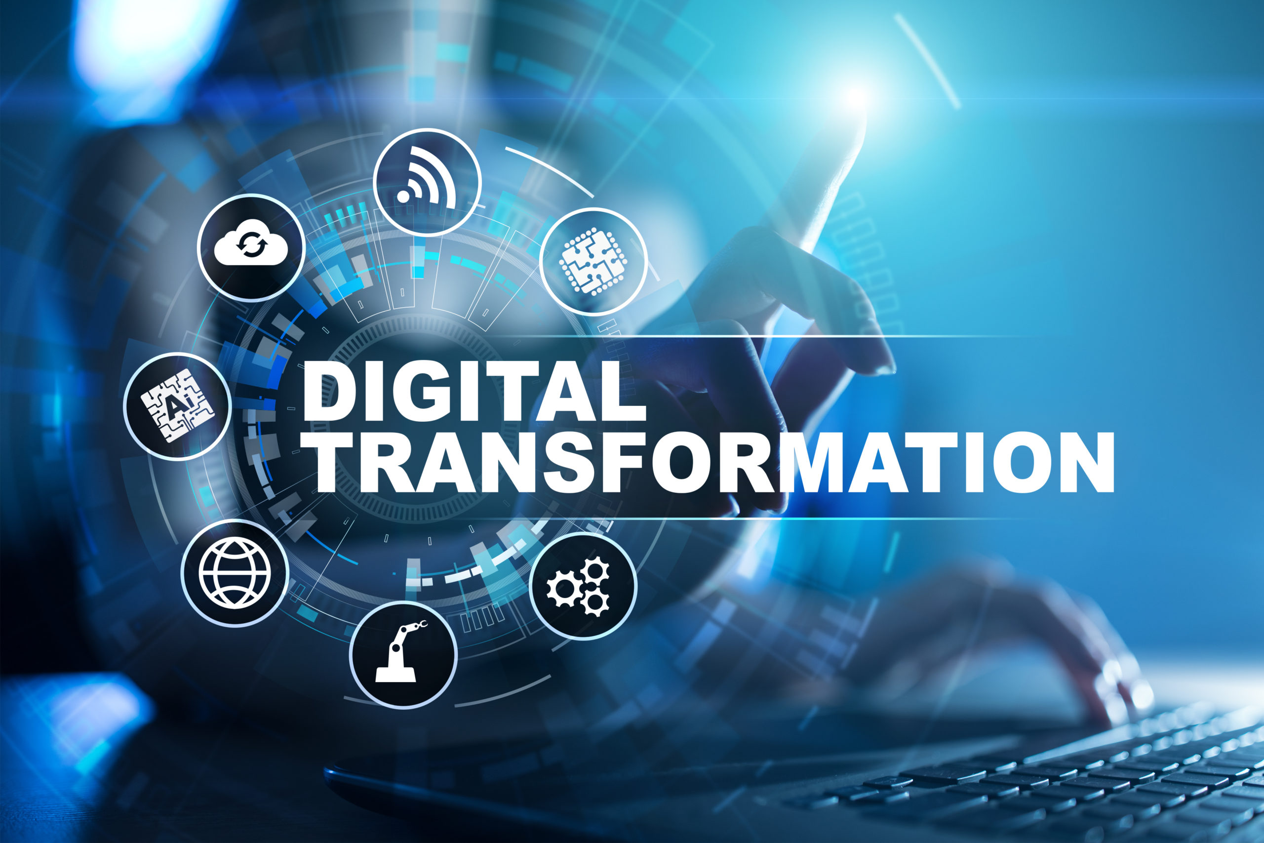 Digital,Transformation,,Concept,Of,Digitization,Of,Business,Processes,And,Modern